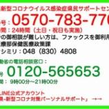 『【新型コロナ】本日(7月11日)、戸田市のお隣り川口市とさいたま市で新たな陽性者確認。埼玉県は21人、越谷市は7人の陽性を発表。30代以下が多い傾向続く。』の画像
