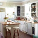 『【海外インテリア画像】かわいい!参考にしたい白いキッチン【シンプル&ナチュラル】 1/2』の画像