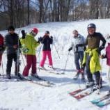 『妙高シニアスキーキャンプ 〜3/12・13・14〜』の画像