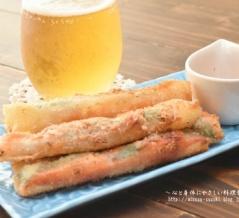 お酒のおつまみに♪簡単♪明太餅チーズのカリカリ春巻きレシピ