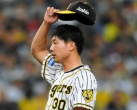 危険球退場の阪神・石崎「思ったような結果が出ず悔しい」