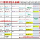 『中3夏期日程の変更&追加   鈴木佑典』の画像