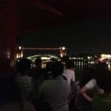 『今年初めての花火を、富山で綺麗な環水公園で見れました〜』の画像
