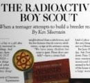 自宅の裏庭に原子炉を作ってしまった高校生、39歳で死亡