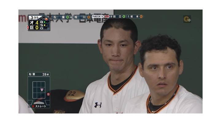 【 画像あり 】巨人・小林誠司、ストレスで頭が・・・!?