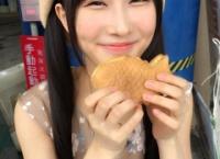 【朗報】たい焼きを食べられて幸福感たっぷりの矢倉楓子ちゃんが可愛すぎる…