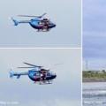 豊橋・万場調整池にヘリコプター飛来!そして 一緒に楽しく万場緑地を散策してみましょう。豊橋にエール!