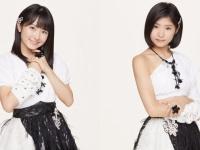 【モーニング娘。'18】森戸知沙希と加賀楓が笑顔で手をつないでる