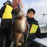 『1月12日 釣果 スーパーライトジギング SLJ 穏やかな海(^^♪』の画像