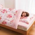 冬場に嬉しいボア付掛布団が入った、お買得寝具セット…