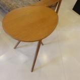 『【今これが売れています 柏木工・日進木工】日進木工のgeppoシリーズのサイドテーブルNFT-795』の画像
