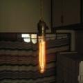 ビンテージ アメリカ ランプソケット コード シーリング付 rs-h026