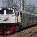 『【栄光の1列車】特急Argo Bromo Angrekもステンレス客車化へ(3月19日~)』の画像