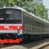 『やっぱりオレンジ?205系武蔵野線M4編成社内試運転(12月3日)』の画像