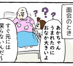 第二子出産レポ(17) 子宮の戻り具合の検査、なんであんな痛いん?