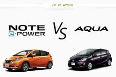 日産 新型ノート e-POWERはガチライバルのアクアに勝てるのか?徹底比較
