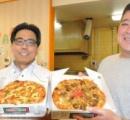 トッピングにゴーヤ、ポーク玉子、ソーキそば具材全部のせ 独自進化する沖縄ピザ