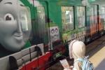 限定缶バッチをゲット!機関車トーマス『交野線のスタンプラリー』。トーマス号で行ってみた!