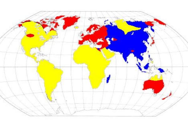 型 世界 割合 血液