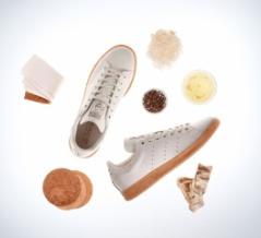 アディダスがキノコ素材の革で作ったスニーカーを発表