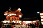 秋祭りのだんじり曳きは、交野の夜をアツくする!~天田神社と私部神社のだんじり~