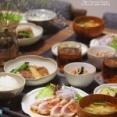 【献立】炙りまぐろのカルパッチョと肉巻き豆腐のすき煮など。~完・治!~