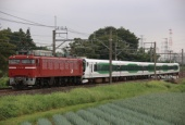 『2021/8/23~24運転 E257系5500番代5両(OM-51編成)秋田出場配給』の画像