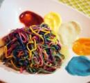 【過激グルメ】原宿カワイイモンスターカフェで食べられるレインボーパスタがヤバすぎる件wwwwwwwwwwww