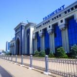 『ウズベキスタン入国!割り込み人間とバトル&いきなりの事故』の画像