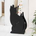 黒猫でオシャレに傘収納。玄関の可愛いワンポイントに…