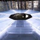 まるでおとぎばなしの世界!星野リゾートに「氷の露天風呂」が登場!
