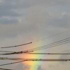 『うっすら残る虹』の画像
