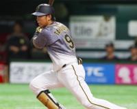 阪神高山(26)OP戦.313(32-10)1本1打点6得点1三振8四球2盗塁OPS.888