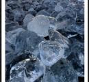 """【画像】海の奇跡、氷の宝石""""ジュエリーアイス"""" 北海道・豊頃の十勝川河口"""