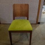 『【軽い椅子】トーア商事のT+S-01 WNアームレスウォールナット材のダイニングチェア』の画像