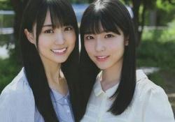 【乃木坂46】4期生ビジュアル2TOPはこの2人でええか???