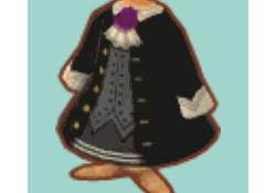 【ポケ森】イベント後半の報酬の「ゴシックなコート」は男の子が着ても良いらしい!!