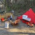 秋キャンプは焚き火とあるものが必要!詳しくブログで紹介。