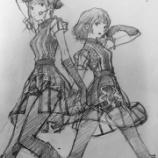 『【乃木坂46】エヴァの貞本義行 アンダーライブ・X'masライブに来ていた模様!乃木坂のイラストも公開!!!』の画像