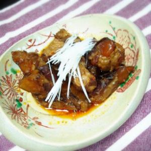 豚軟骨のピリ辛煮