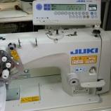 『JUKI LH-3568ASF-7(2本針本縫い自動糸切りミシン)の納品!』の画像