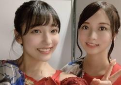 【激震】早川聖来×佐々木琴子、2ショット美しすぎる・・・・・