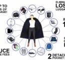 見た目はフツーだけど15キロもモノを入れられるコート これならスーツケースなしで海外旅行ができそう(写真あり)