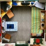 『【一人暮らしのレイアウト】ワンルームインテリアの実例写真 1/2 【インテリアまとめ・一人暮らし 写真 】』の画像