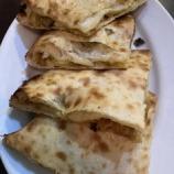 『【インドカレー】きのこベーコンチーズナン@ニュームナ狭山』の画像