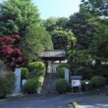 『5月末の雲性寺;東大和市』の画像