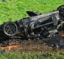 元「Top Gear」リチャード・ハモンドが撮影中に大事故。3億円のRimacが黒焦げも本人は大事に至らず #TheGrandTour