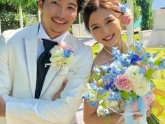 【 祝!】真野恵里菜&柴崎岳が挙式!ウェディングドレス姿で2ショット!