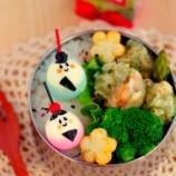 『ひなまつりのキャラ弁:ウズラの卵の染め方』の画像