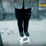【動画】中国、68歳のおばあちゃんが鉄棒で首吊り!と思ったら自分で発案した健康法! [海外]